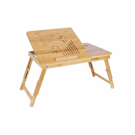 Állítható bambusz laptop asztal
