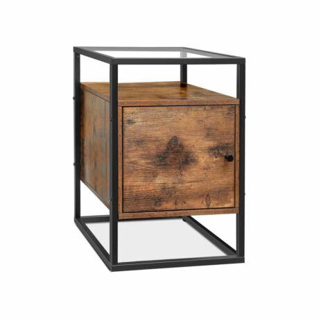 Kis Üvegasztal szekrénnyel