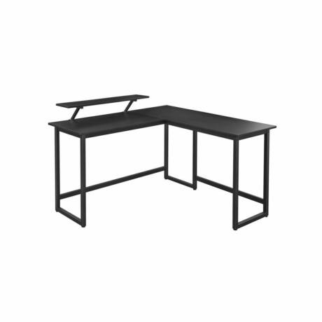 Sarok íróasztal, L alakú számítógép asztal 140 x 130 x 89 cm (H x Sz x M)