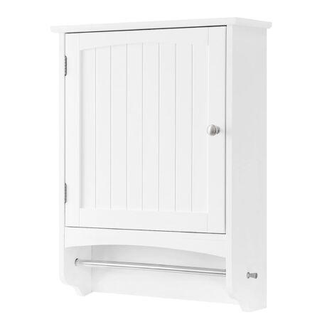 Faliszekrény, fából készült fürdőszoba szekrény