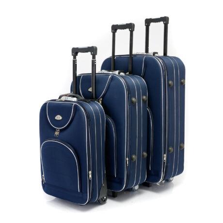 3 db-os bőrönd szett - Kék