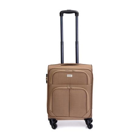 Bontour Basic Kabinbőrönd 55x40x20cm Világósbarna