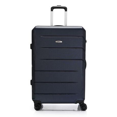 """Bontour """"Spinner"""" (4 Kerék) Bőrönd 77cm Kék/ 2 Év Garancia"""