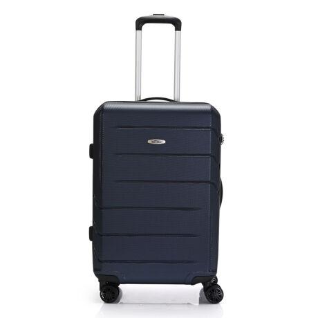 """Bontour """"spinner"""" (4 Kerék) Bőrönd 67cm Kék / 2 Év Garancia"""
