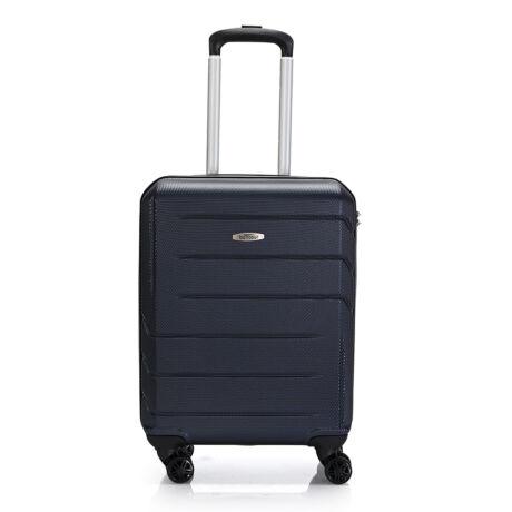 "Bontour ""Spinner"" 4 Kerekes kabinbőrönd 55X40X20 CM Kék/ 2 ÉV GARANCIA"