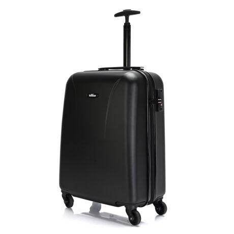 """Bontour """"Vacation"""" 4 Kerekes kabinbőrönd 55X40X20 CM Fekete/ 2 ÉV GARANCIA"""