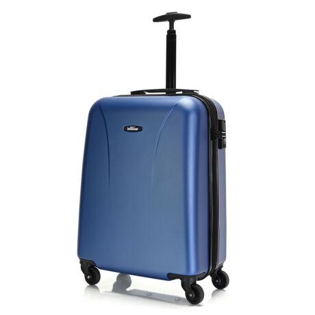 """Bontour """"Vacation"""" 4 Kerekes kabinbőrönd 55X40X20 CM Kék/ 2 ÉV GARANCIA"""
