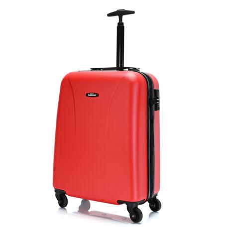 """Bontour """"Vacation"""" 4 Kerekes kabinbőrönd 55X40X20 CM Piros / 2 ÉV GARANCIA"""