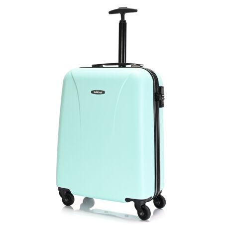 """Bontour """"Vacation"""" 4 Kerekes kabinbőrönd 55X40X20 CM Zöld / 2 ÉV GARANCIA"""