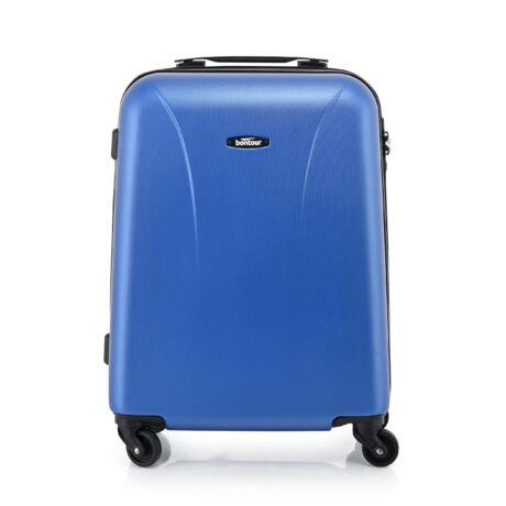 """Bontour """"Vacation"""" 4 Kerekes kabinbőrönd 55X40X20 CM, Kék, 2 ÉV GARANCIA"""