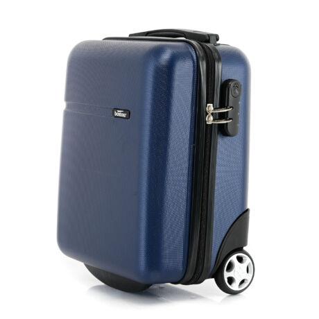 Bontour CabinOne kabinbőrönd WIZZAIR járataira ingyenesen felvihető Sötétkék színben (40x30x20 cm)