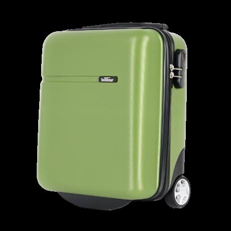 Bontour CabinOne kabinbőrönd WIZZAIR járataira ingyenesen felvihető Zöld színben (40x30x20 cm)