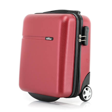 Bontour CabinOne kabinbőrönd WIZZAIR járataira ingyenesen felvihető Piros (40x30x20 cm)