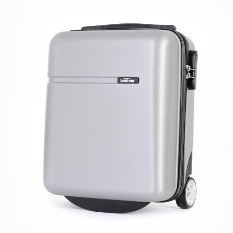 Bontour CabinOne kabinbőrönd WIZZAIR ingyenesen felvihető Ezüst színben (40x30x20 cm)
