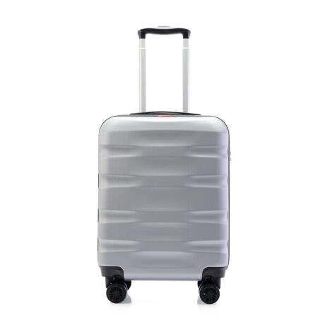 Bontour WAVE Kabinbőrönd 55x40x20cm, Ezüst
