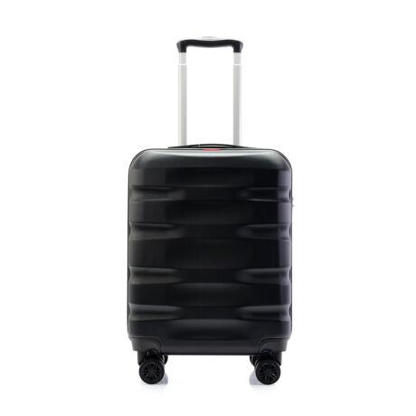 Bontour WAVE Kabinbőrönd 55x40x20cm, Fekete