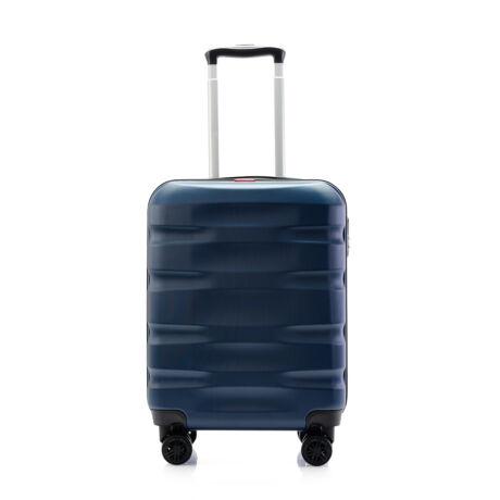 Bontour WAVE Kabinbőrönd 55x40x20cm Kék / 1 ÉV Garancia