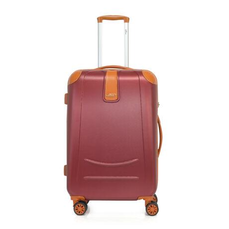 Bontour ELEGANCE Közepes Bőrönd 70cm Bordó