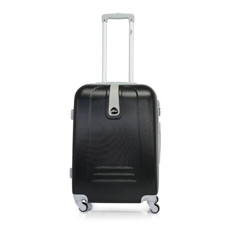 Bontour CLASSIC Közepes Bőrönd 64cm  Fekete