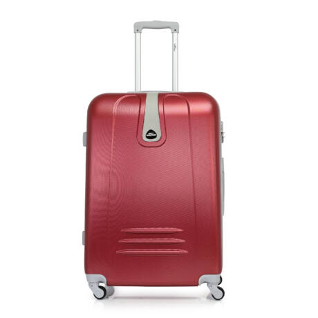 Bontour CLASSIC Nagy Bőrönd 75cm Bordó