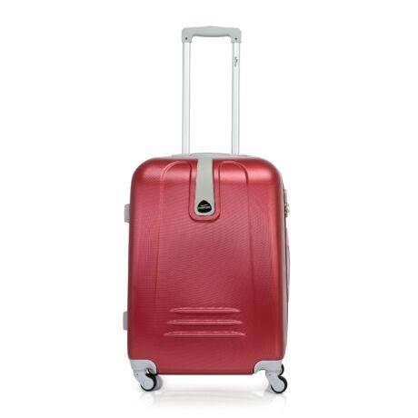 Bontour CLASSIC Közepes Bőrönd 64cm Bordó