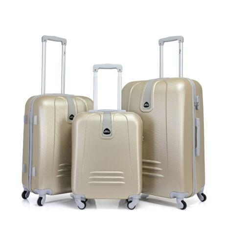 Bontour CLASSIC 4 Kerekű Bőrönd Szett Pezsgő