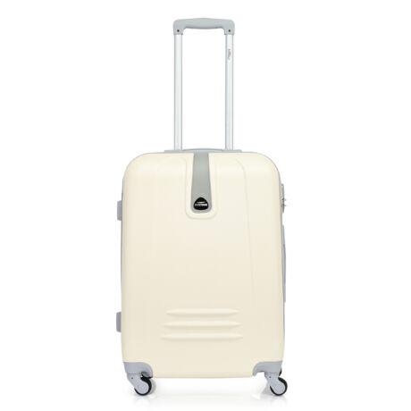 Bontour CLASSIC Közepes Bőrönd 64cm  Krémfehér