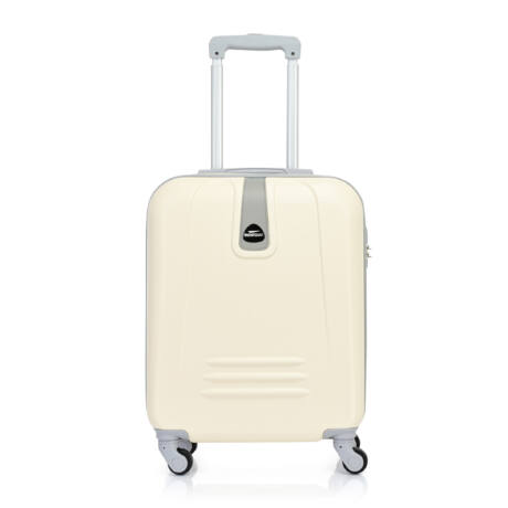 Bontour CLASSIC Kabinbőrönd 55cm Krémfehér