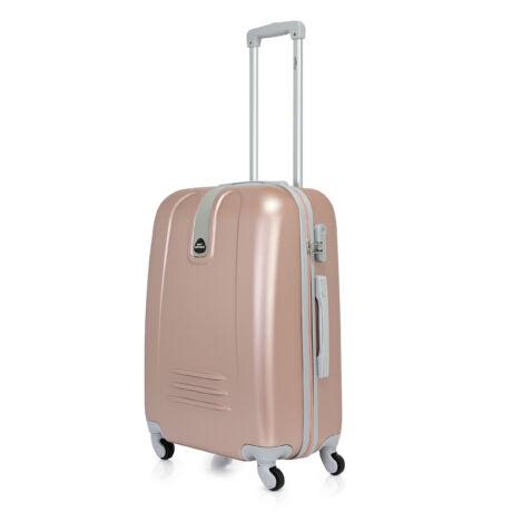Bontour CLASSIC Közepes Bőrönd 64cm Rose Gold