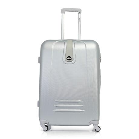 Bontour CLASSIC Nagy Bőrönd 75cm Ezüst