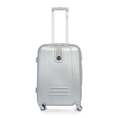 Bontour CLASSIC Közepes Bőrönd 64cm  Ezüst
