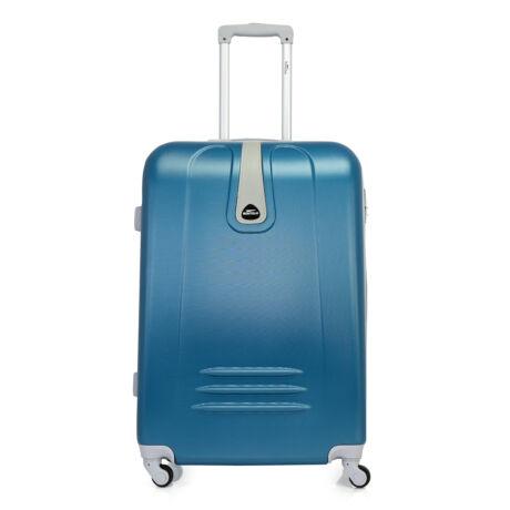 Bontour CLASSIC Nagy Bőrönd 75cm Acélkék