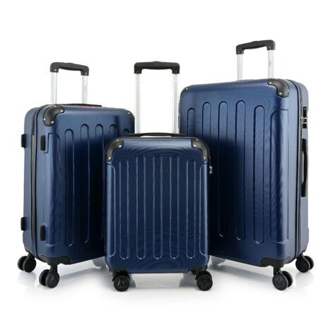 BONTOUR VERTICAL 4 Kerekes Bőrönd Szett Kék