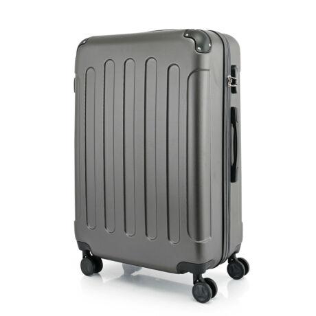 BONTOUR VERTICAL 4 Kerekes Nagy Bőrönd 76x50x29cm Sötétszürke