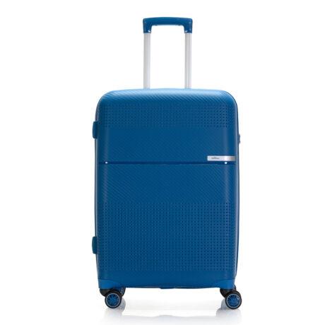 """Bontour """"Cruise"""" 4 Kerekes Bőrönd 67 Cm Kék / Törhetetlen Rugalmas Anyagból"""