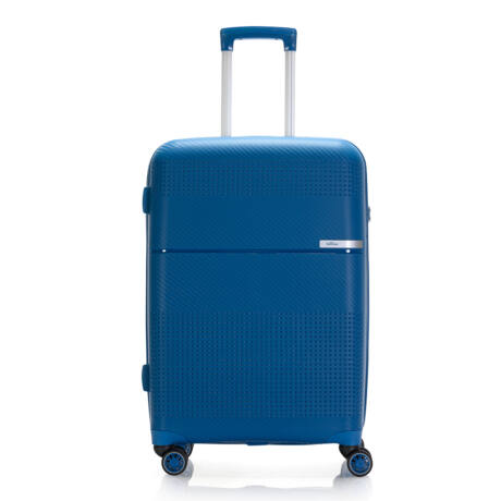 """Bontour """"Cruise"""" 4 Kerekes Bőrönd 67 Cm Kék / Erős & Rugalmas Anyagból"""
