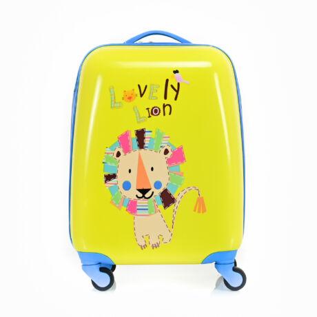 BONTOUR Gurulós Gyerek Bőrönd Kis Oroszlán mintával