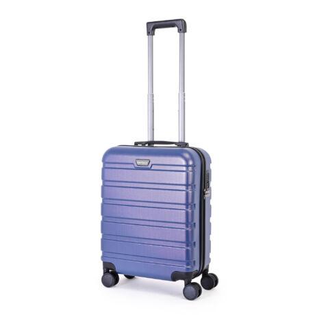 """Bontour """"Brushed Metal"""" Kabinbőrönd 55cm Kék"""