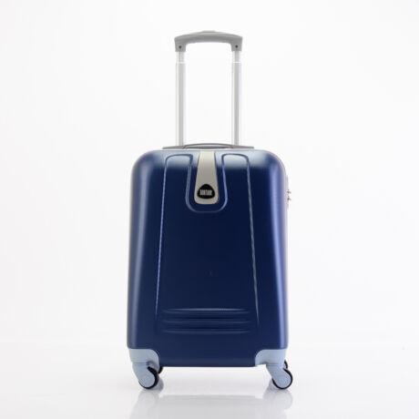 4 Kerekes Merev Falú Kabinbőrönd 55x38x20 cm Kék