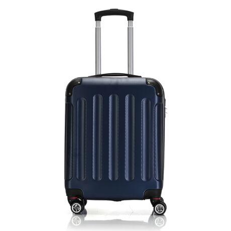 Bontour Basic kemény kabinbőrönd 55x40x20cm 195-S# Kék