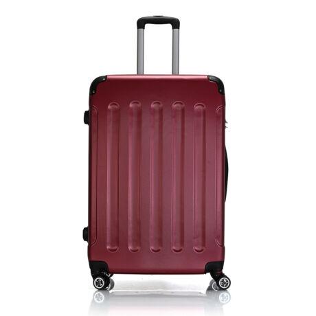 Bontour Basic kemény bőrönd 76cm 195-L# Bordó
