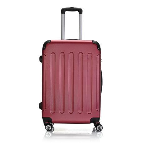 Bontour Basic kemény bőrönd 68cm 195-M# Bordó