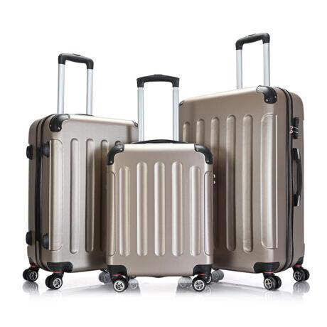 Bontour Basic kemény bőrönd szett 195-3# Arany