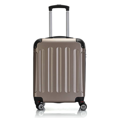Bontour Basic kemény kabinbőrönd 55x40x20cm 195-S# Arany