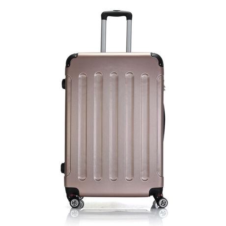 Bontour Basic kemény bőrönd 76cm 195-L# Rózsaarany