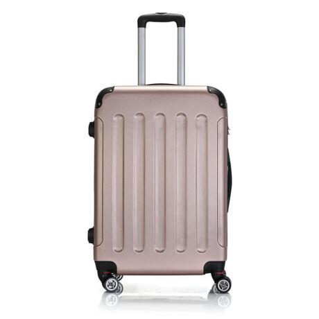 Bontour Basic kemény bőrönd 68cm 195-M# Rózsaarany