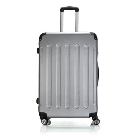 Bontour Basic kemény bőrönd 76cm 195-L# Ezüst