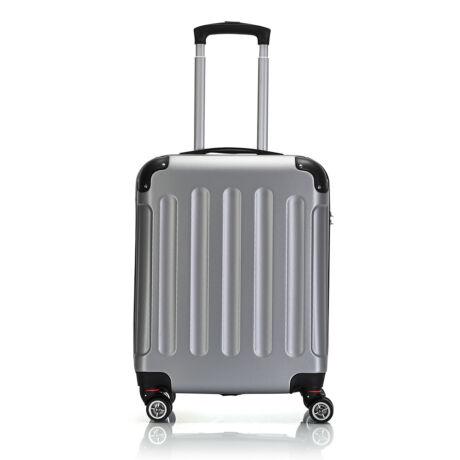 Bontour Basic kemény kabinbőrönd 55x40x20cm 195-S# Ezüst
