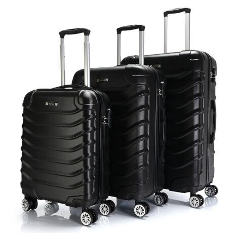 Bontour Basic kemény bőrönd szett 2026-3# Fekete