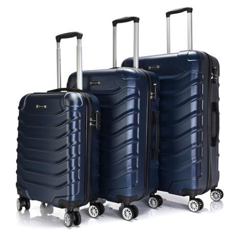Bontour Basic kemény bőrönd szett 2026-3# Kék